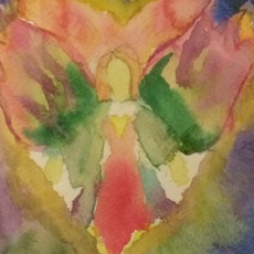 Angel Watercolour