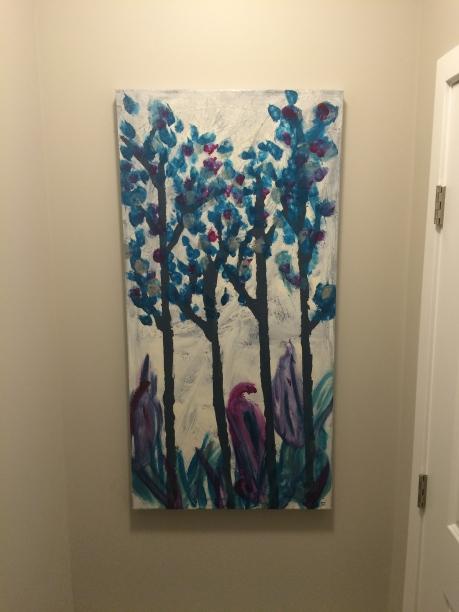 Mini Mite Tree Canvas