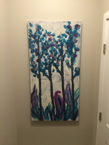 Mini Mite Tree Canvas