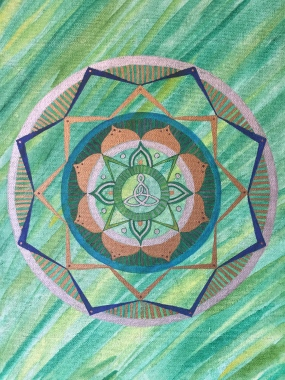 Mother Daughter Mandala